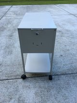 Rolling lateral metal filing cabinet in Cherry Point, North Carolina
