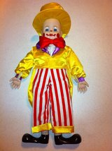 """18"""" Porcelain Clown Doll - Amazing Cond! in Chicago, Illinois"""