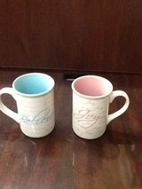 Gibson Everyday Inspirational Words: Joy & Believe Coffee Mugs in Spring, Texas