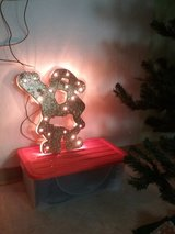 gold bright Santa Claus in Baumholder, GE