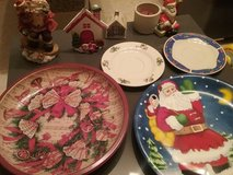 Winter decoration plates, mug in Baumholder, GE