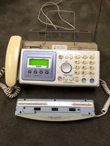Japanese telephone with fax and detachable OCR Scanner in Okinawa, Japan