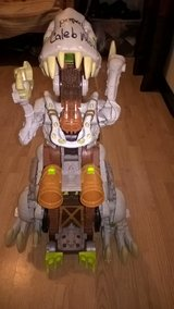 3 feet tall battery operated moving trex knex. in Evansville, Indiana