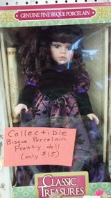 Pretty Porcelain doll in box in 29 Palms, California