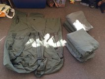 Duffle bags sea bags in Camp Pendleton, California