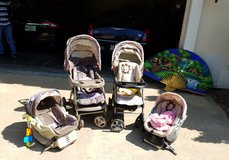 BABY STROLLERS w/ CAR SEATS $70 SET OBO in Fort Leonard Wood, Missouri