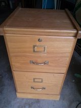 Wooden Filing Cabinet in Kankakee, Illinois