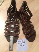 Gladiators sandals-bigger than 8 1/2 in Ramstein, Germany