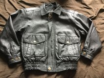 Genuine Leather Jacket Size Large for Boys in Plainfield, Illinois