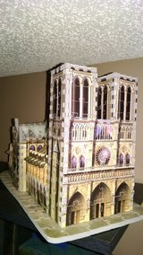 REDUCED-3D puzzle/Notre-Dame in Macon, Georgia