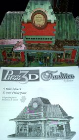 REDUCED-3D puzzle/Main Street in Macon, Georgia