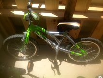 "18"" Surge Boys' Bike, Green and Silver in Camp Pendleton, California"