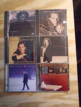 6 Michael Bolton cds in Lockport, Illinois