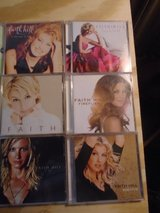 6 Faith Hill cds in Orland Park, Illinois
