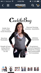 Cuddle bug wrap in Columbus, Georgia