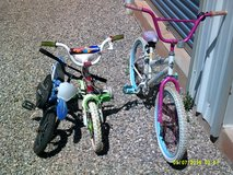 THREE BICYCLES in Alamogordo, New Mexico