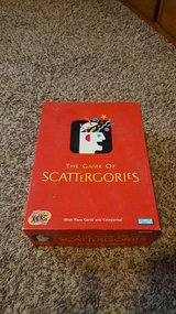 Scattegories in Nellis AFB, Nevada