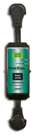 TRC 34750 50 Amp Surge Guard RV Portable Power / Protection LCD Display in Houston, Texas