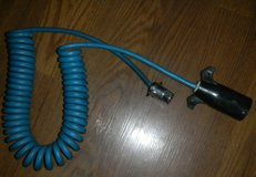 Blue Ox 4 Wire Coiled Electric Cable w/ Female Receptor Pigtail RV / Trailer Connector in Houston, Texas