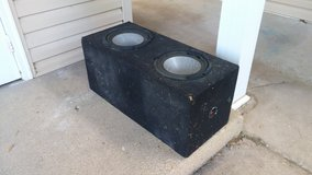 "10"" Sub Box in Fort Leonard Wood, Missouri"
