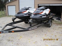 2 SEA DOO WATER CRAFT WITH TRAILER in Conroe, Texas