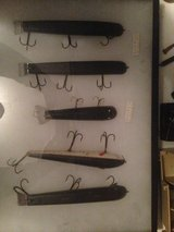 5 Old Muskie Lures in Naperville, Illinois