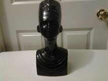 Black Ceramic Egyptian Queen Bust in Eglin AFB, Florida