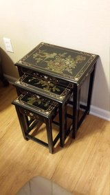 Oriental nesting tables in Lawton, Oklahoma