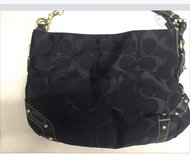 Coach purse black in Ramstein, Germany