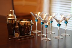 Cocktail/Martini Glass Set - Collector's Item in Kingwood, Texas
