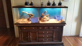 100 gal terrarium and all supplies in Lawton, Oklahoma