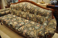 3 Seater old French Sofa in Ramstein, Germany