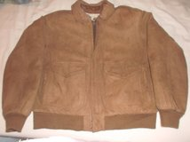 Rock Creek. Man's Flight Bomber Leather Motorcycle Vintage Jacket. Medium. in Conroe, Texas
