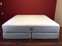 King Size Mattress (Sears O pedic-Comfort Cloud) in Tomball, Texas