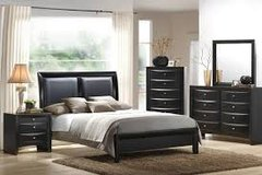 Black Bedroom Set in Fort Irwin, California