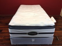 Twin Size Mattress (Classic Elie Plush Pillowtop) in Tomball, Texas