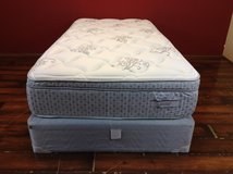 Twin Size Mattress (NEW-Montgomery Eurotop Bronze Collection) in Tomball, Texas