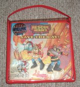 Brand New Fisher Price Rescure Heroes Save The Day Felt Interactive Playset Book with Carring Case in Joliet, Illinois