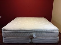 King Size Mattress (White-Pillowtop) in Tomball, Texas