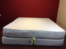 KING Size Mattress (leaves design) in Tomball, Texas