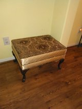 queen anne legs ottoman or stool in The Woodlands, Texas