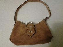 Tan Suede Purse in Eglin AFB, Florida