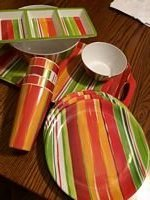 18 pc Gibson Picnic/Serving Set in Bartlett, Illinois
