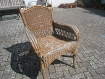 Wicker Lawn Chairs in Ramstein, Germany