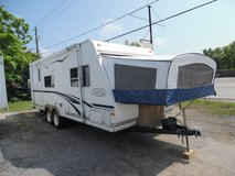 2004 trailer light by r vision 24 foot travel trailer 2 popout beds power slide out in Kingwood, Texas