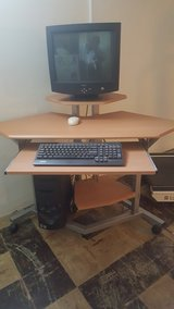 Computer Workstation and Office Chair in Cincinnati, Ohio