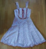 red white summer dress with polka dots in Ramstein, Germany