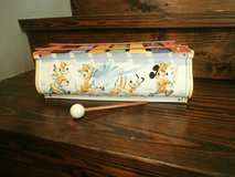 Vintage tin litho walt disney charater xylophone in Cleveland, Texas