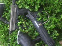 I have two paint ball guns one is spyder mr1 and other is US army caver one  the mr1 peice were ... in DeRidder, Louisiana