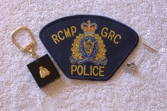 RCMP / GRC PATCH + Sterling Maple Leaf & Keychain in 29 Palms, California